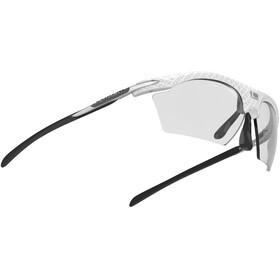 Rudy Project Rydon Slim Lunettes, white carbonium - impactx photochromic 2 black